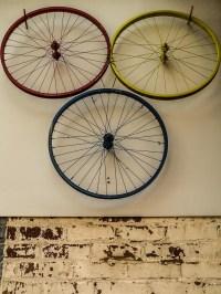 Bicycle: Bicycle Wheel Art