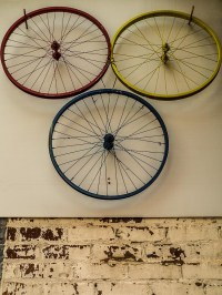 Bicycle: Bicycle Wheel Art