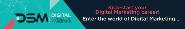 DSM Digital School of Marketing Digital Marketing course registration