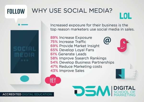 DSM Social Media Marketing - digital marketer