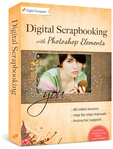 Learn Digital Scrapbooking Class