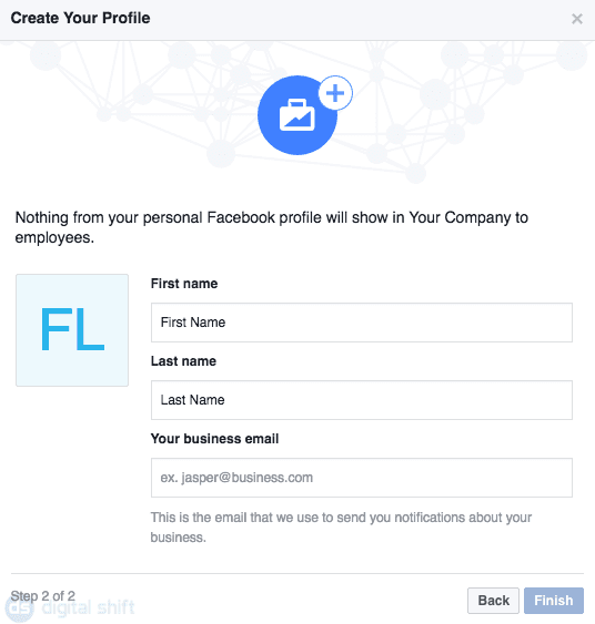 How To Create a Facebook Business Manager Account Step 4