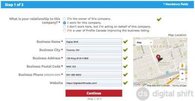 How To Add A Business to Profile Canada