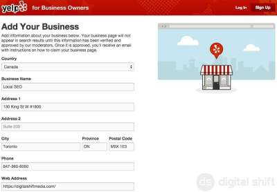How to add your business to Yelp.ca5