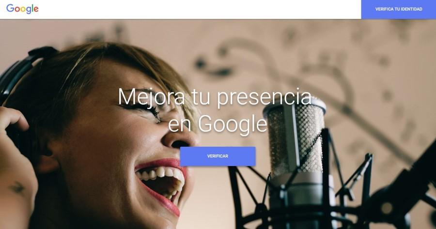 Verificar tu identidad en Google. Mejora tu presencia en Google