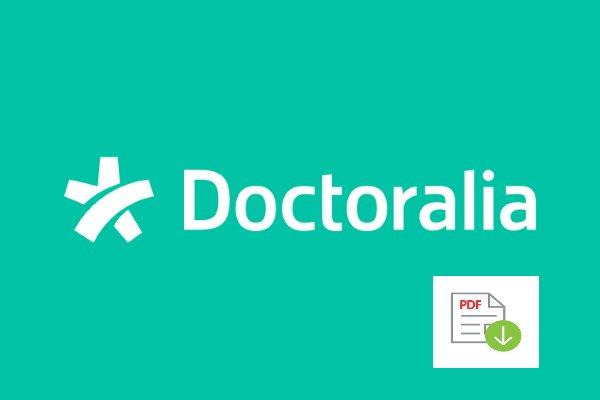 Doctoralia Facturas en PDF