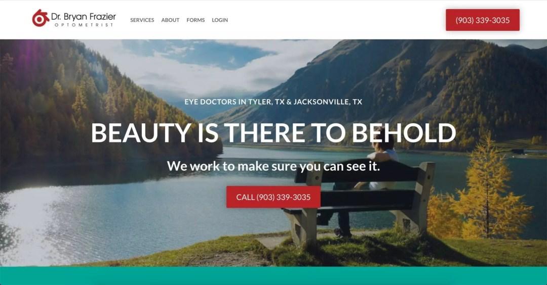 Web Design Project (Frazier Vision)