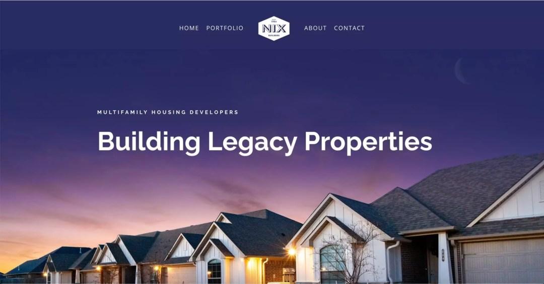 Web Design Project (Nix Builders)