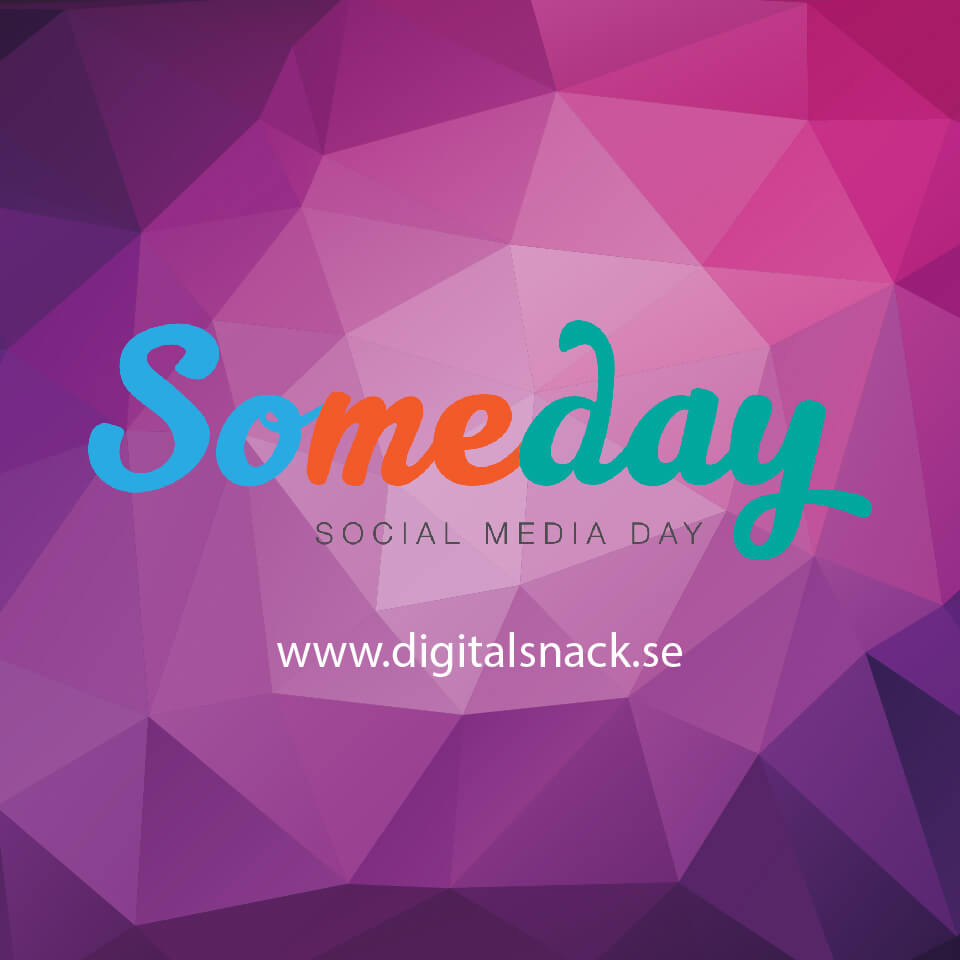Someday social media day Digitalsnack rabatt