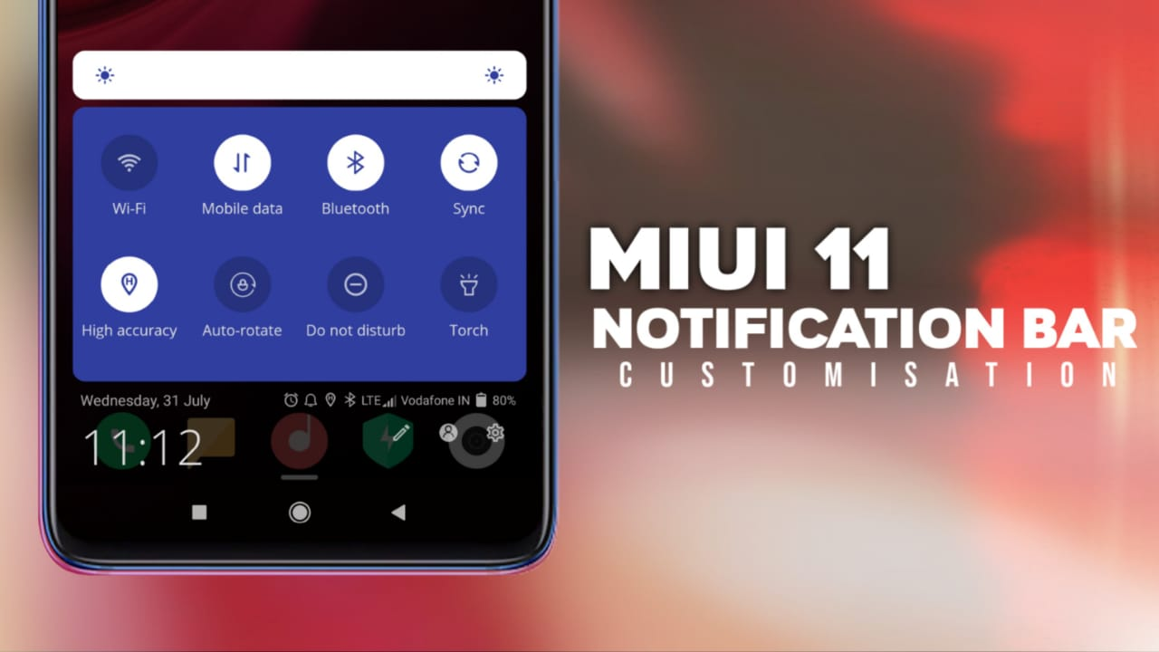 Best Customization Notification Bar For Any Android Devices -MIUI-ify – Notification Shade
