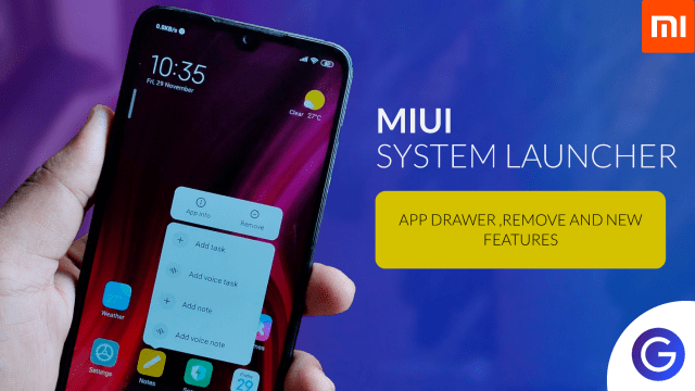 MIUI System Launcher