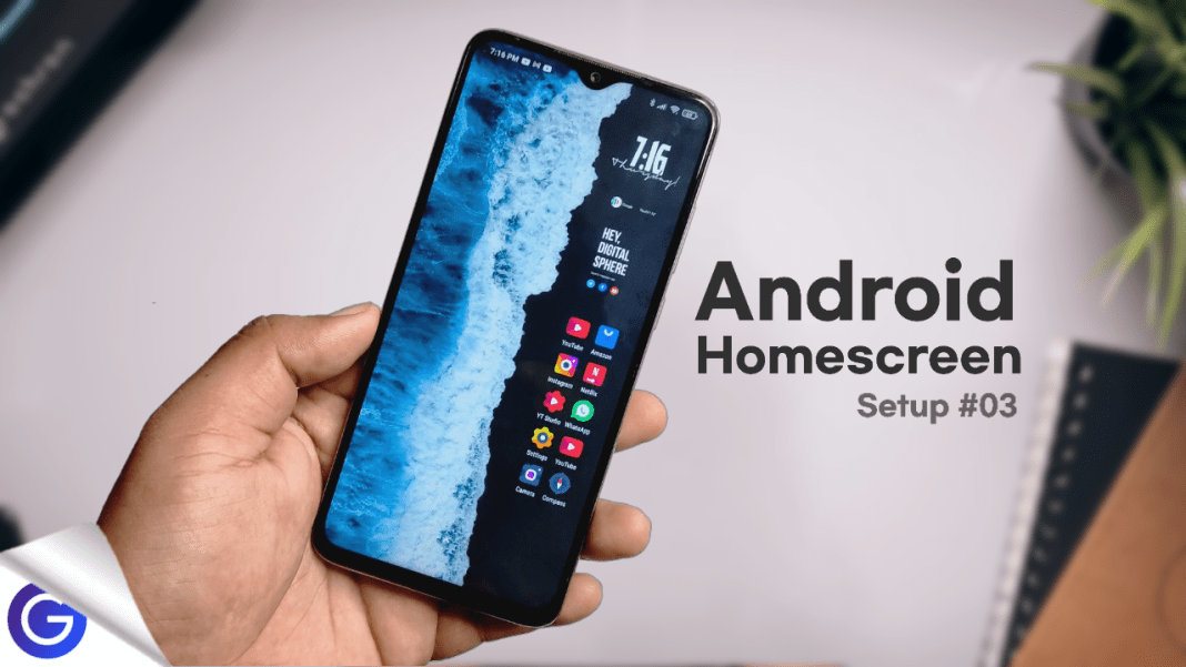 best android homescreen setup