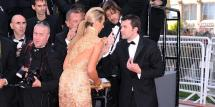 Socialite Kicked Cannes Red Carpet 'posing