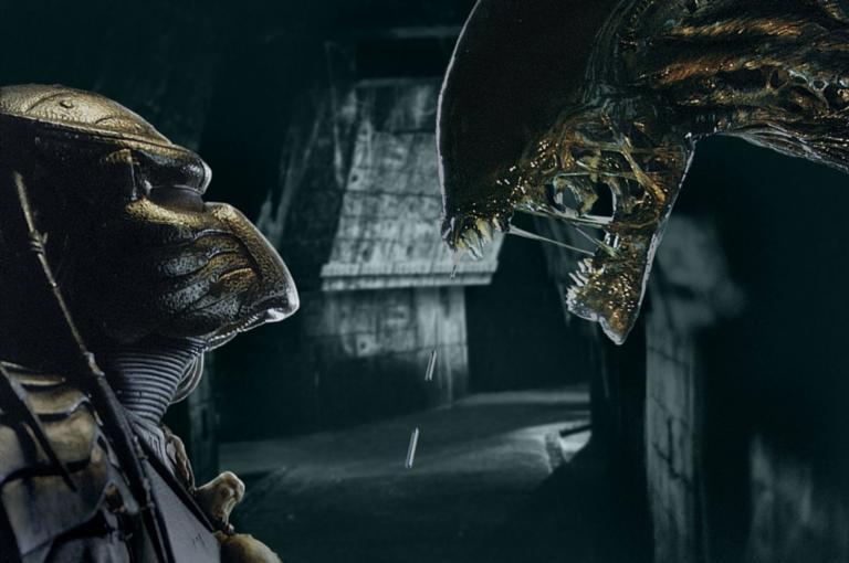 Image result for alien vs predator scene
