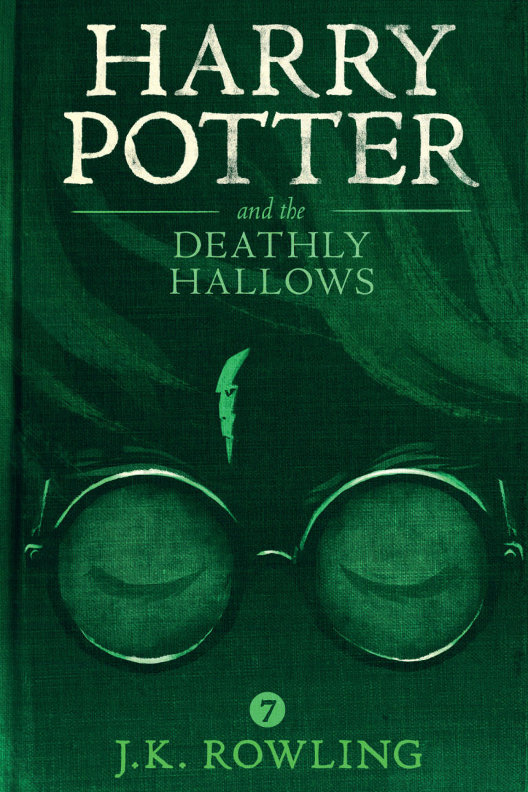 Image result for harry potter and the deathly hallows book cover