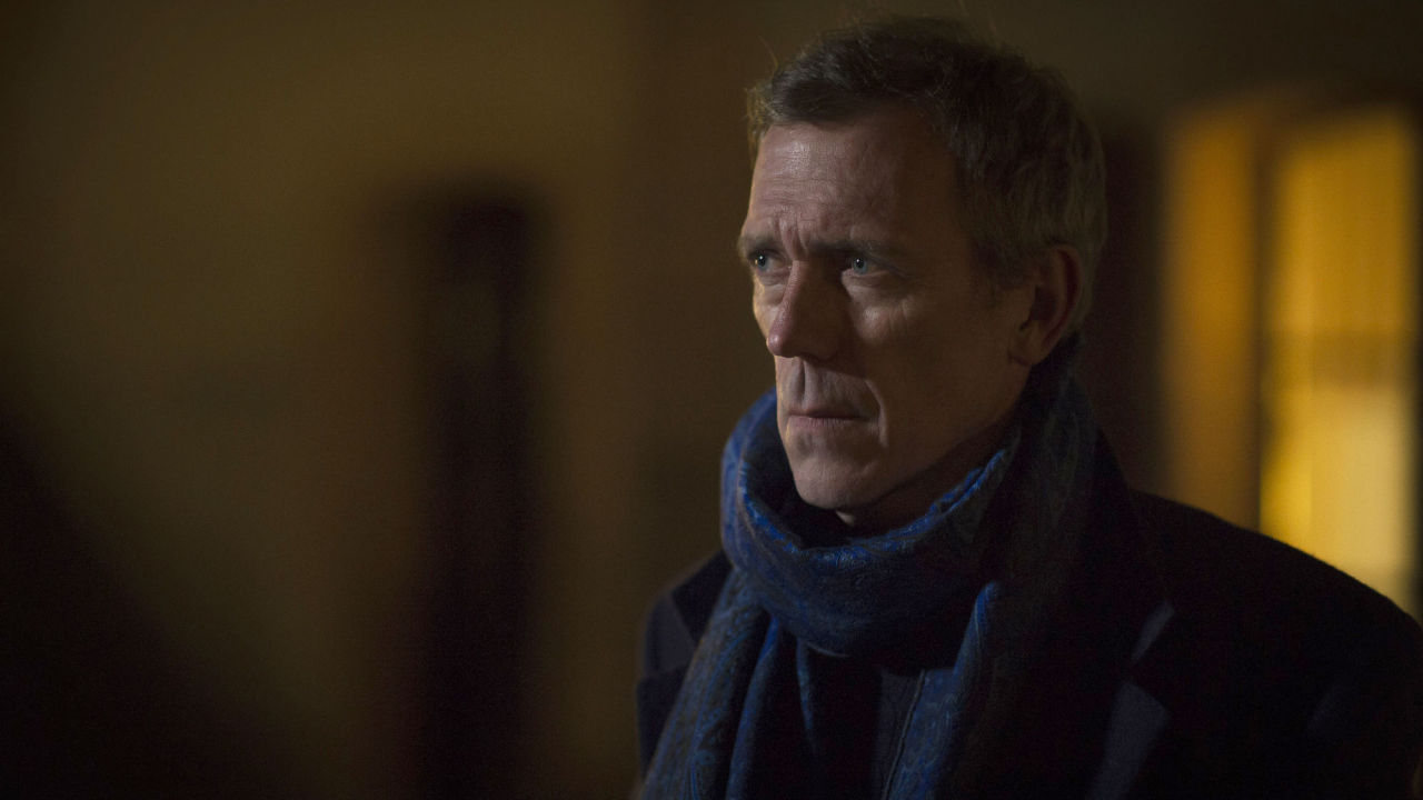 Hugh Laurie as Richard Roper in BBC One's The Night Manager