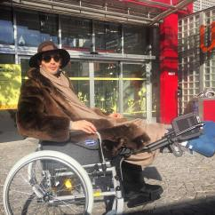 Wheelchair Jump Rocking Folding Lawn Chair The Made In Chelsea 39s Mark Francis Looks