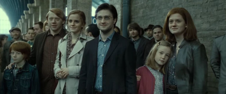 EastEnders' Ben Champniss as an extra in Harry Potter and the Deathly Hallows - Part 2