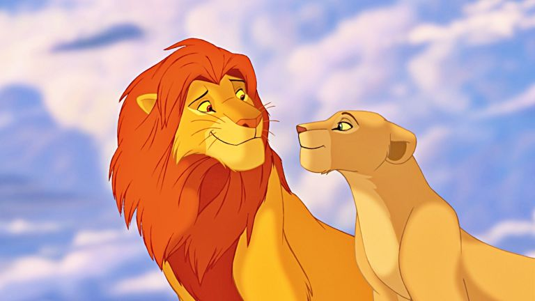 Simba and Nala in The Lion King