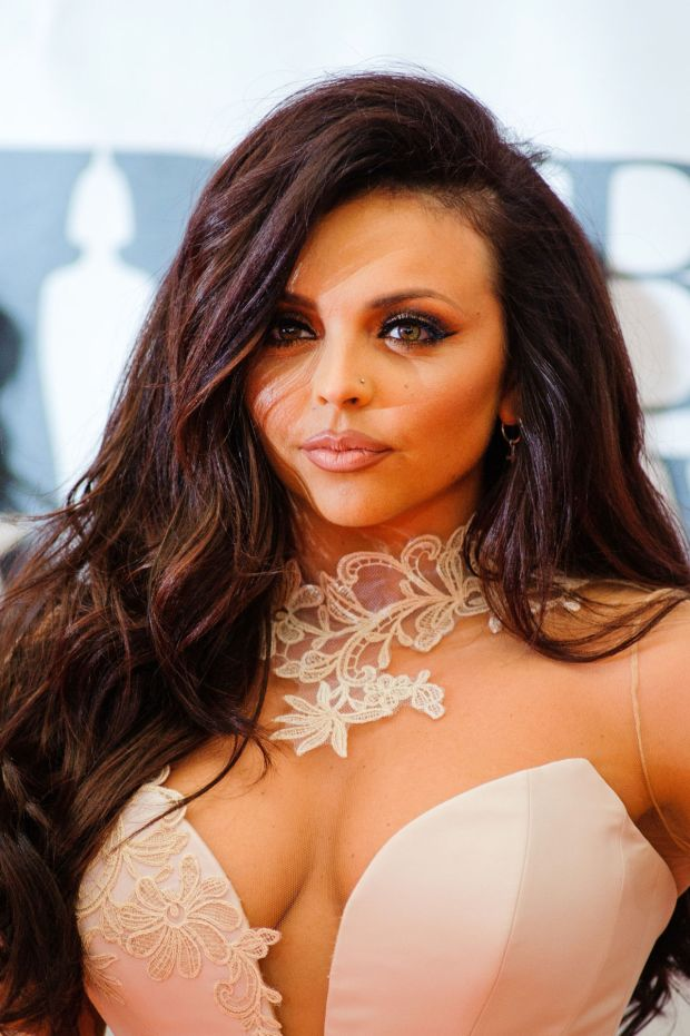 Jesy Nelson of Little Mix  attends the BRIT Awards 2016 at The O2 Arena on February 24, 2016 in London, England