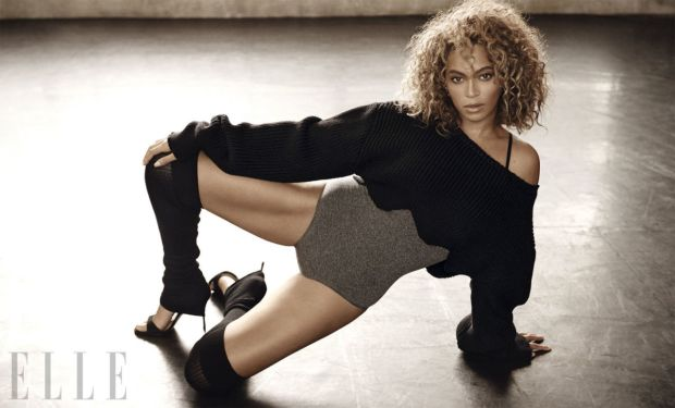 Beyoncé in ELLE magazine