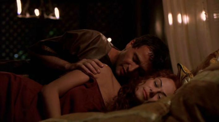 James Purefoy and Polly Walker in Rome (2005)