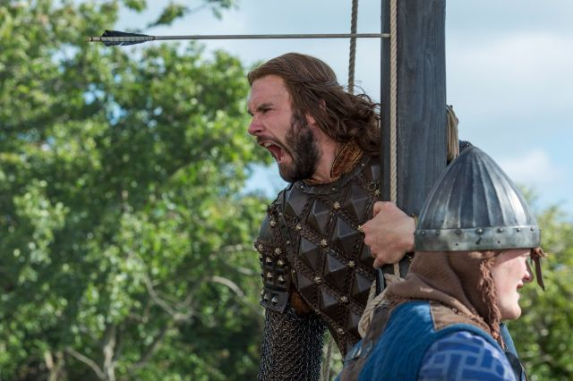 Rollo in History's Vikings