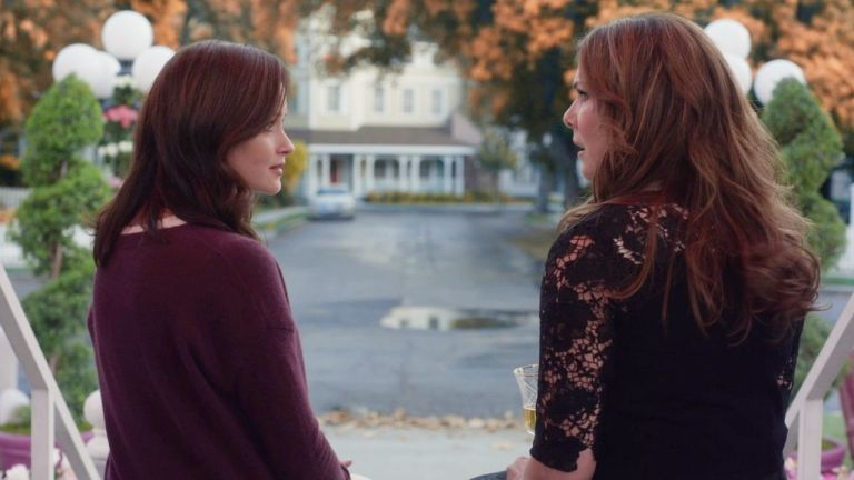 Image result for gilmore girls a year in the life final 4 words gif