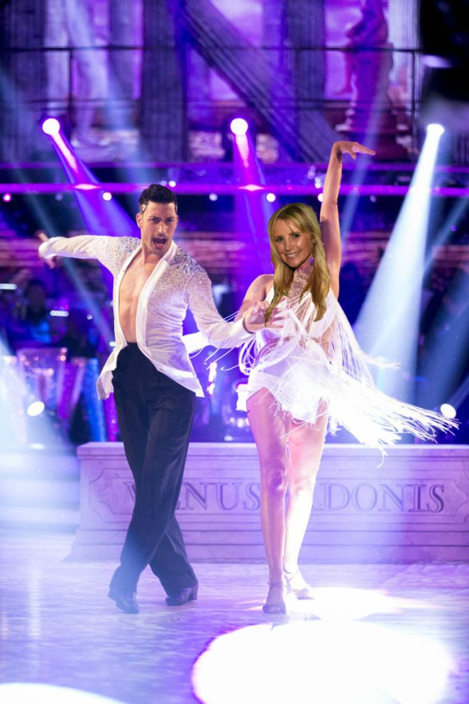 Carley Stenson Strictly rumours photoshop