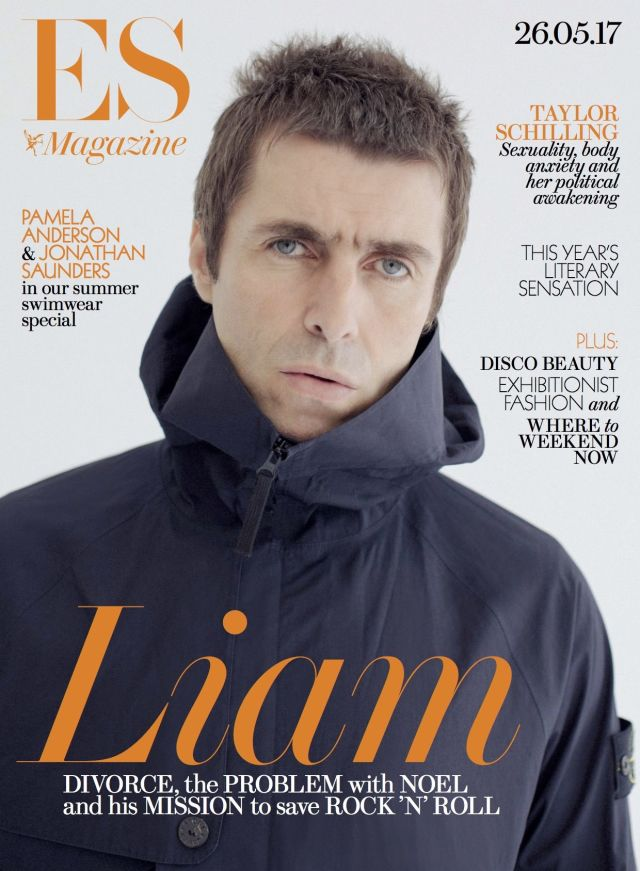 Liam Gallagher in ES Magazine