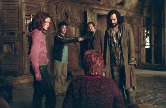 Harry Potter in the shrieking shack