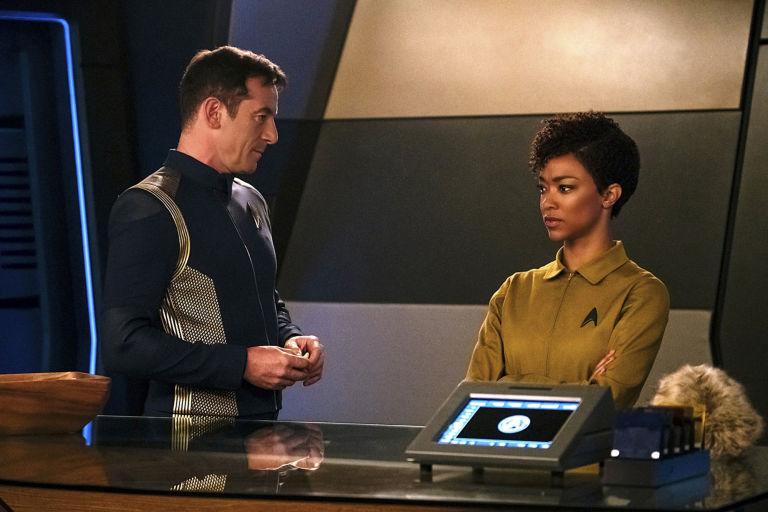 Sonequa Martin, Jason Isaacs, Star Trek: Discovery, Episode 3