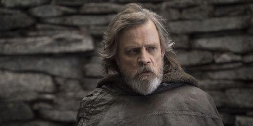 Mark Hamill as Luke Skywalker in Star Wars: The Last Jedi Copyright Lucasfilm