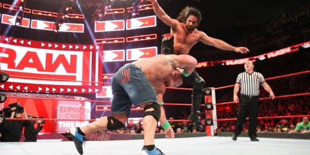 Image result for Monday night rollins image