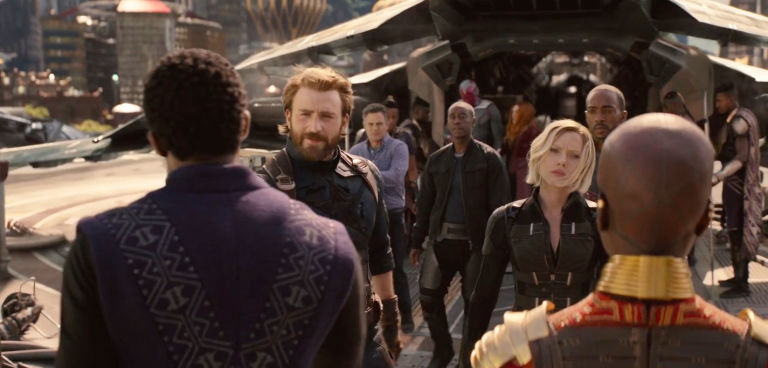 """Hulk encontra Pantera Negra"" - Clipe #7 de Vingadores: Guerra Infinita"