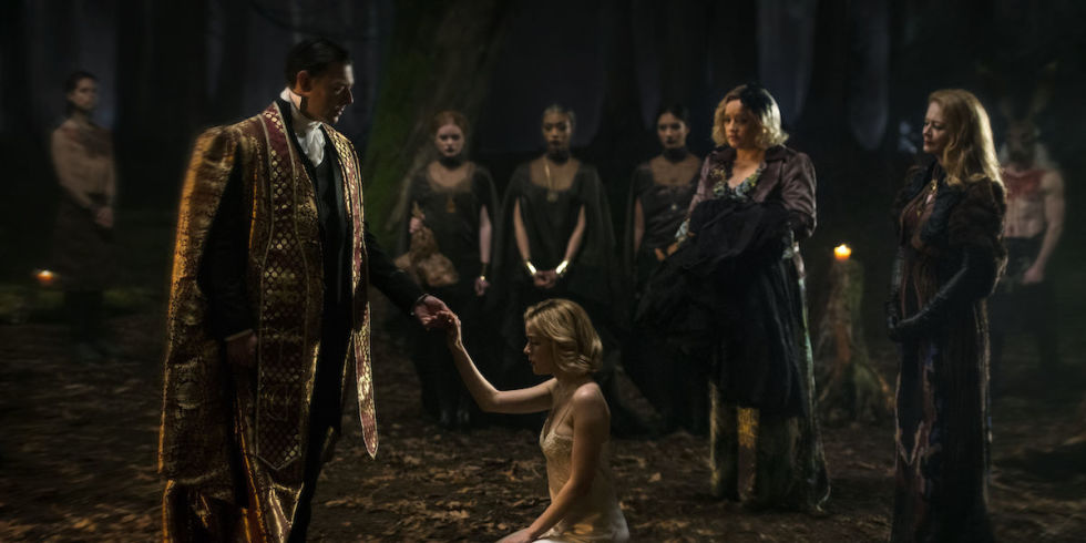 Image result for chilling adventures of sabrina title card