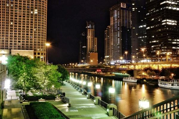 Chicago River Walk Digital Stills