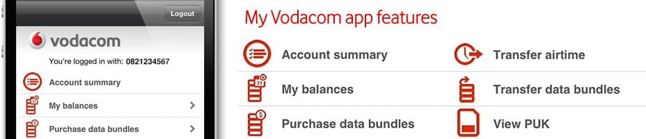 My Vodacom App Launched - Digital Street