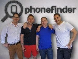 Left to Right: Tom Goldgamer, Danny Aaron, Lance Krom, Devin Karpes