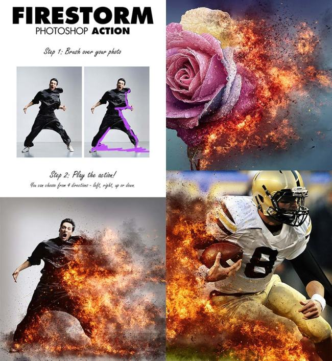 free download photo-effect-firestorm-photoshop-action