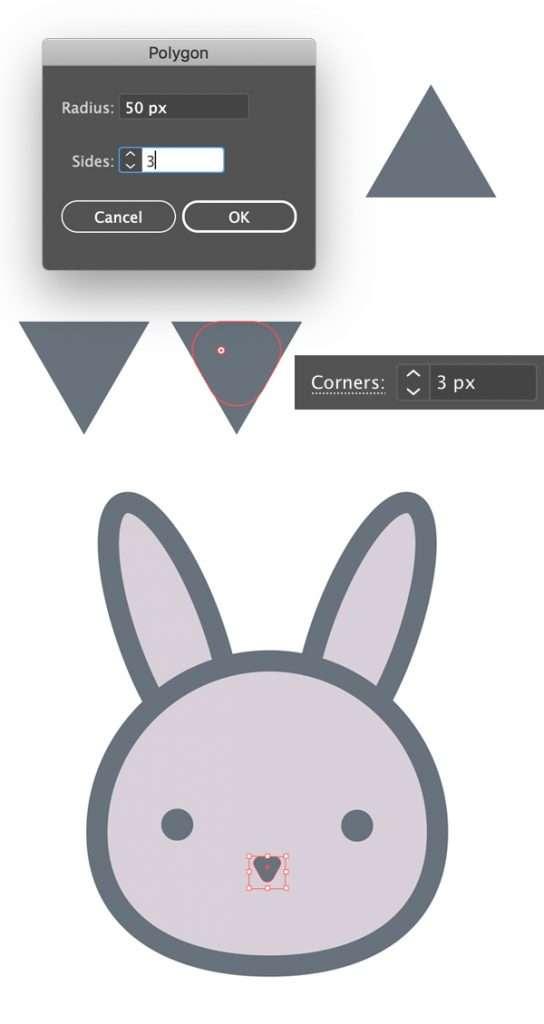 Langkah 5-easter-bunny-egg