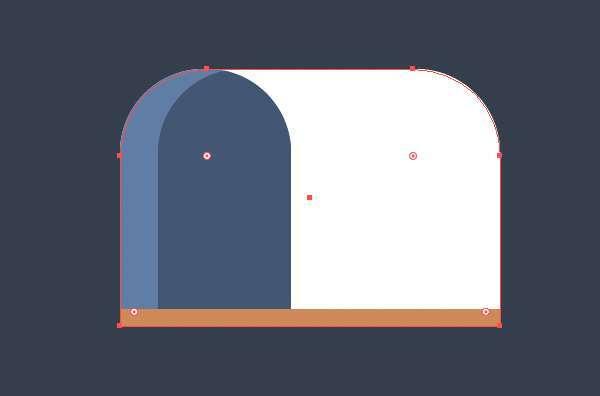 Tutorial Icon Flat Design Kotak Surat di Adobe Illustrator 05
