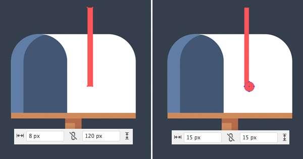 Tutorial Icon Flat Design Kotak Surat di Adobe Illustrator 07