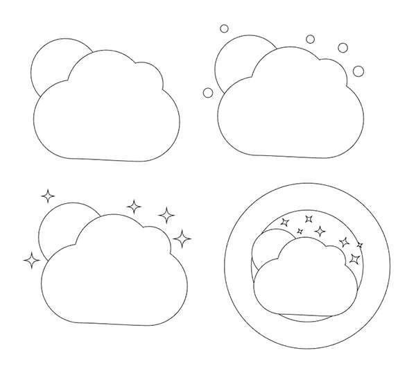 Tutorial Membuat Ikon Flat Design Aplikasi Cuaca 02