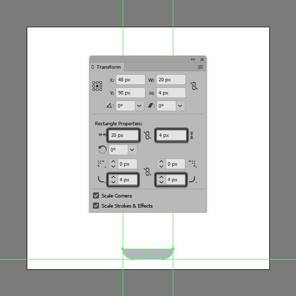 Tutorial Membuat Ikon Baterai di Adobe Illustrator CC 03
