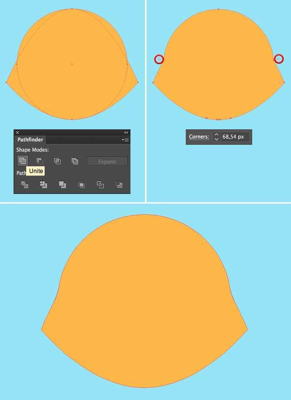 Tutorial Membuat Logo Karakter Serigala di Adobe Illustrator CC 03