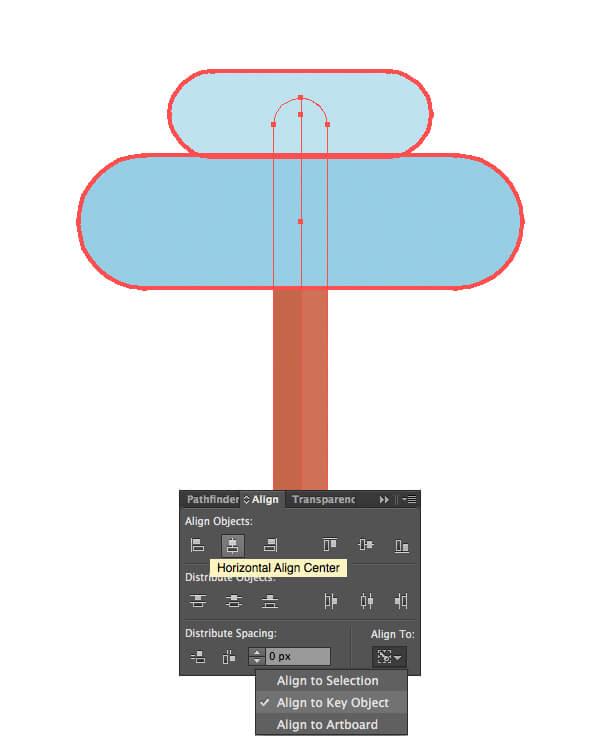 Tutorial Membuat Flat Design Musim Dingin di Adobe Illustrator CC 07