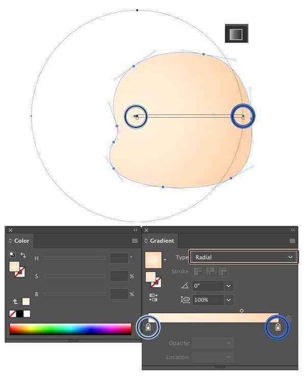 Tutorial Membuat Ikon Anak Kecil di Adobe Illustrator CC 03