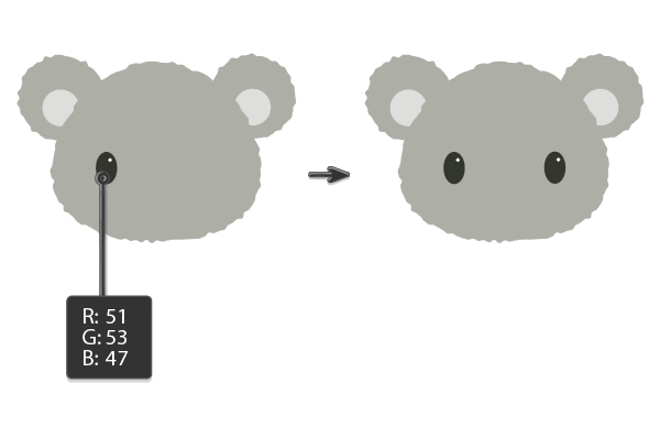 Tutorial Membuat Ilustrasi Koala di Adobe Illustrator CC 06