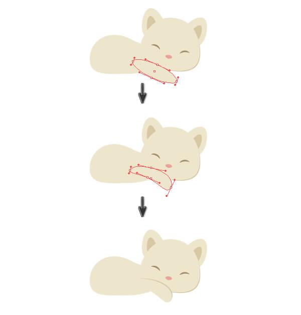 Tutorial Membuat Karakter Kucing dan Tumpukan Buku di Adobe Illustrator CC 17